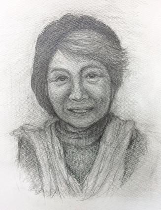 会員作品『恩師の肖像』