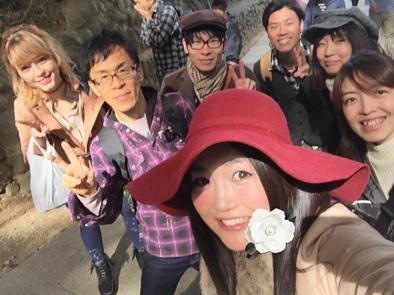 高尾山スケッチ会 2015