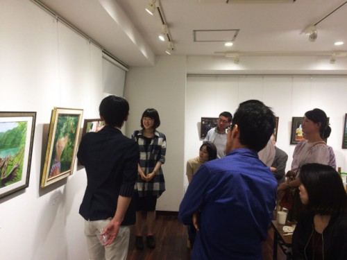 アートスクール セント・ギャラリー作品展2018 打ち上げパーティー