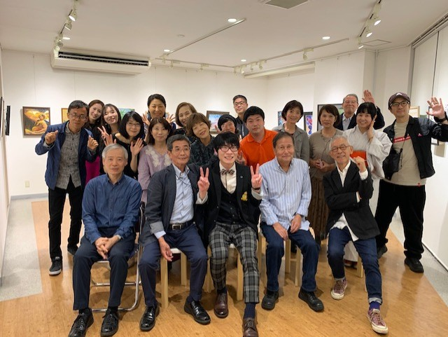 アートスクール セント・ギャラリー作品展2019 打ち上げパーティー